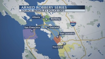 3 Arrested in Connection to Series of Takeover-Style Robberies in Bay Area