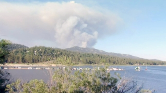 Firefighters Continue to Fight 1,200-Acre Fire in Big Bear