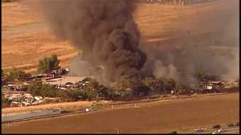 Three Injured After Brush Fire in Contra Costa County