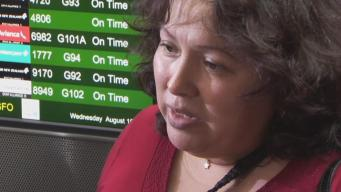 Deported Oakland Nurse Says Goodbye to Family, United States