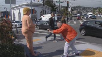 Naked Donald Trump Pops Up in SF