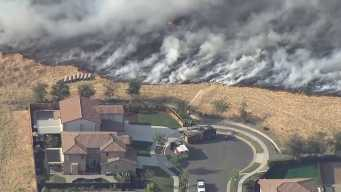 Solano County Brush Fire 95 Percent Contained