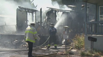 3 Dead in San Jose Mobile Home Park Fire