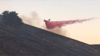 Series of Brush Fires Along Highway 4 Under Control
