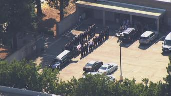 Procession Held for Oakland Firefighter Shot in San Jose