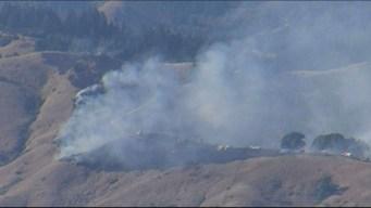 Arrest Made in Marin County Brush Fire Near Woodacre