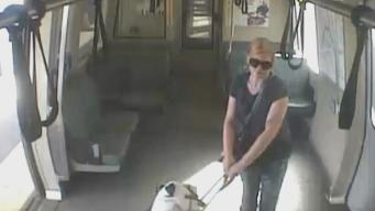 BART Surveillance Video Shows Attempted Robbery With Menacing Note
