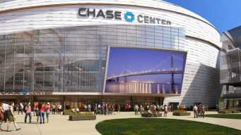 Warriors Tour Chase Center in San Francisco's Mission Bay