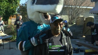 World War II Vet, Longtime Sharks Fan Assisted with Gifts
