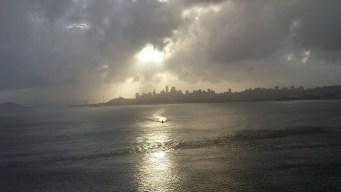 Thunder, Lightning Strike Palo Alto, More Rain Pounds Down