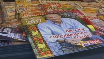 A Calendar Featuring Russian President Released
