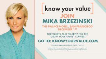 MSNBC's Mika Brzezinski Takes 'Know Your Value' to SF