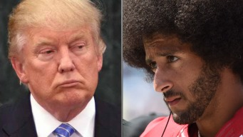 Trump Blames Kaepernick for NFL's Ratings Slide