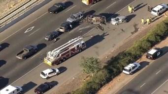 Fatal Crash in Pittsburg Blocks Lanes of Highway 4
