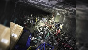 Homeless Camp Cleanout Yields Underground Bunkers, 1000 Bikes