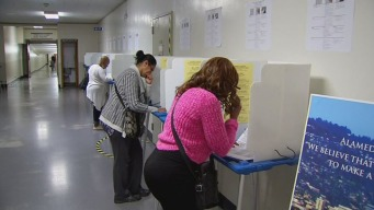 Bay Area Voters Head to Polls
