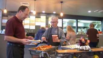 Restaurants Provide Free Thanksgiving Meals for Fire Victims
