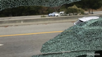Broken Windows Reported on Apple and Google Buses on I-280