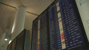Rain, High Winds Delay Air Travel at SFO