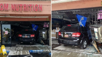 Man Intentionally Plows Car Into Girlfriend's Store, Police Say