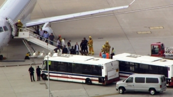 Officers, K-9 Search Plane at LAX Due to Threat Report