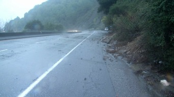 Highway 17 Mudslide Cleared, Rock Slide Causes Trouble