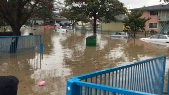 Flooding Causes Evacuations