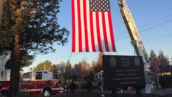 Procession Honors Fallen Alameda County Sheriff's Deputy