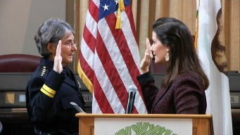 Oakland's First Female Police Chief Takes Office