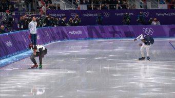 Shani Davis Finishes Off the Podium in 1000m