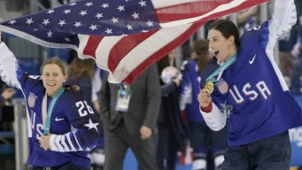 U.S. Women's Hockey Team Talks About Journey to Gold Medal