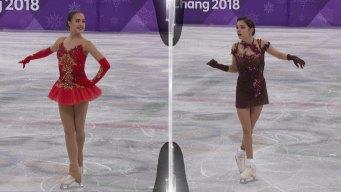 Watch Zagitova, Medvedeva Perform Side-By-Side in Free Skate