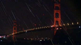 Steady Rain in Marin Headlands Amid Latest Winter Storm
