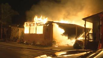 Gas-Fueled Fire Guts South San Jose Mobile Home