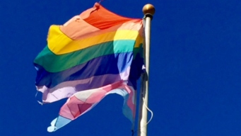 South Bay Leaders Raise LGBT Flag in Show of Solidarity