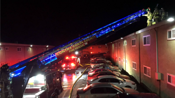 Contra Costa County Firefighters Extinguish Apartment Blaze