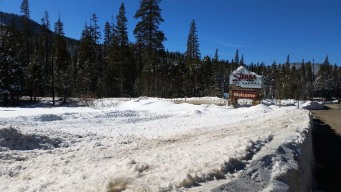 California Welcomes Snow Drifts Left by Late-Winter Storm