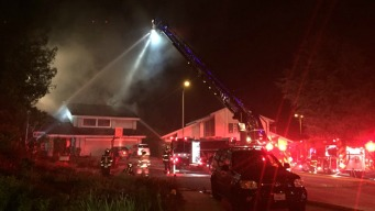 Two-Alarm House Fire Burns in Sunnyvale
