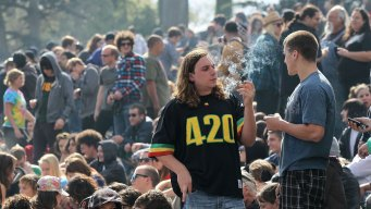 20,000 Celebrate First Legal 4/20 at SF's Hippie Hill