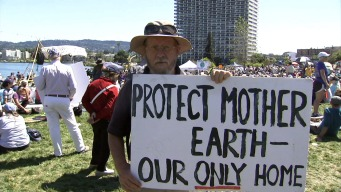 People's Climate March Draws Hundreds Across Bay Area