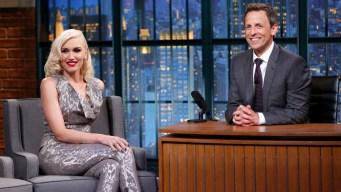 Meyers: Stefani Explains Her Emmys Blunder