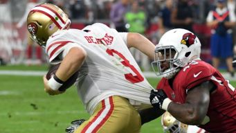 49ers Cough Up Fourth Quarter Lead, Fall to Cardinals 18-15