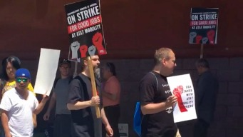 Union Workers For AT&T Embark on Strike