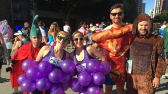 Weird and Wacky: Creatively-Dressed Runners Take Over San Francisco For Bay to Breakers Race