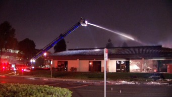 [BAY ML 5A SANCHEZ Two-Alarm Commercial Fire Breaks Out in Sunnyvale