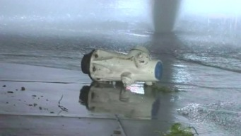 Busted Fire Hydrant Floods Busy Concord Intersection
