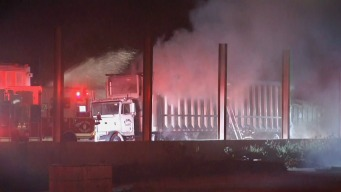 Firefighters Extinguish Blaze at SJ Recycling Yard