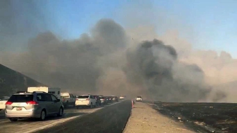 Grant Fire Off Interstate 580 Near Livermore Fully Contained