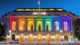 San Francisco Luminous in Rainbow Colors for Pride 2017