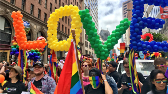 Sea of Rainbows Bathes San Francisco for Annual Pride Parade